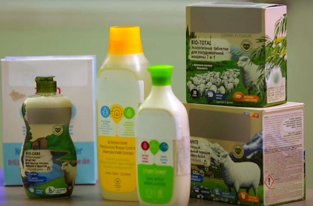 Эко и био средства для мытья посуды